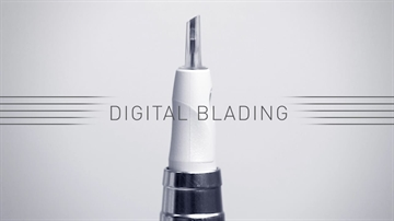 3-point Digital Blading Safety needle